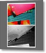 Ready Red  Metal Print