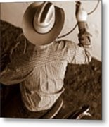Ready To Rope Metal Print
