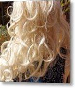 Real Blond Metal Print