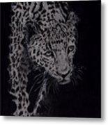 Realistic Cheeta Metal Print