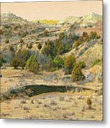 Realm Of Golden West Dakota Metal Print
