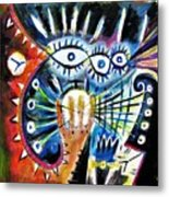 Realy Into It Metal Print