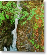 Reany Falls 4548 Metal Print