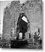 Rear Entrance Fuerty Church Roscommon Ireland Metal Print