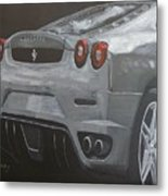 Rear Ferrari F430 Metal Print