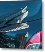 Rear Reflections Metal Print