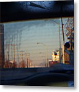 Rear View 2 - The Places I Have Been Metal Print