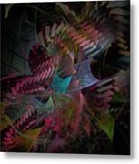 Reason And Virtue - Fractal Art Metal Print