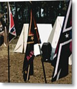 Rebel Camp Metal Print