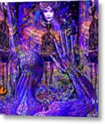 Spiritual Rebirth Of The Blue Planet Metal Print