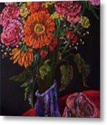 Recital Bouquet Metal Print by Emily Michaud