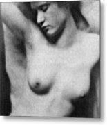 Reclining Nude, C1910 Metal Print