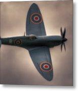 Reconnaissance Spitfire Pl965r Mkxi Metal Print