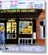 Reconnoiter Parisian Stores In Your Dreams Metal Print