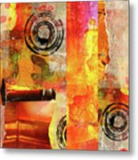 Reconstruction Abstract Metal Print