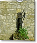 Rectory Mansion And Hand Pump - Brading Metal Print