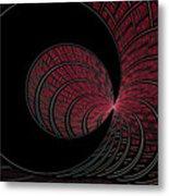 Red-addz Metal Print