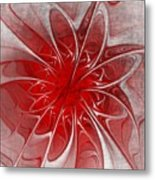 Red And Black  -f D- Metal Print