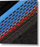 Red And Blue Shine Metal Print