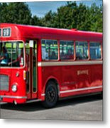 Red And White Rs 167 - Bristol Resl6l #1 Metal Print