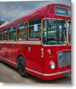 Red And White Rs 167 - Bristol Resl6l  #2 Metal Print