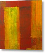 Red And Yellow #1 Metal Print