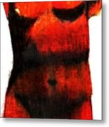 Red Aphrodite Metal Print