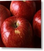 Red Apples Metal Print