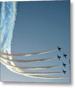 Red Arrows - 1 Metal Print by Graham Taylor