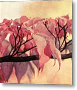 Red Autumn Day Metal Print