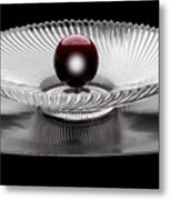 Red Ball Metal Print