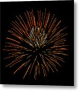 Red Ball Metal Print by Phill Doherty