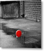 Red Balloon I Metal Print