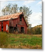 Red Barn Putnum County Metal Print