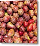 Red Bartlett Pears Metal Print