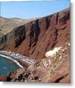 Red Beach Conclave 2  Metal Print