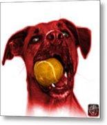 Red Boxer Mix Dog Art - 8173 - Wb Metal Print