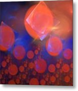 Red Bubble Suns Metal Print