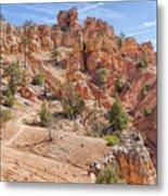Red Canyon Trail Metal Print