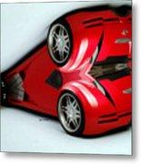 Red Car 007 Metal Print