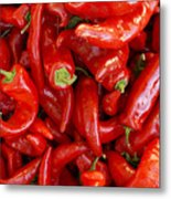 Red Chile Peppers  Metal Print
