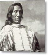 Red Cloud Chief Metal Print