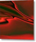 Red Clouds Metal Print