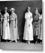 Red Cross Corps, C1920 Metal Print