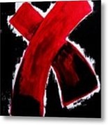 Red Cross Ll Metal Print