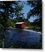 Red Dam In Summer #2 Metal Print
