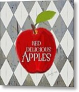 Red Delicious Apples Metal Print
