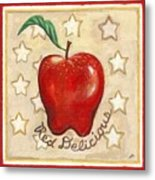 Red Delicious Two Metal Print