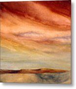 Red Desert Metal Print