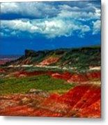 Red Desert Metal Print